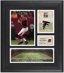 Matt Ryan Atlanta Falcons Framed 15'' x 17'' Collage with Game-Used Football - Mounted Memories