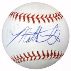 Matt Smith Autographed Signed MLB Baseball Phillies, Yankees PSA/DNA #Y29912