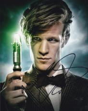 Matt Smith Doctor Who Signed 8x10 Photo Authentic Autograph Bbc Coa A