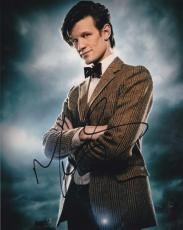 Matt Smith Doctor Who Signed 8x10 Photo Authentic Autograph Bbc Coa B