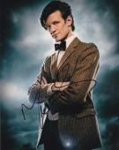 Matt Smith Doctor Who Signed 8x10 Photo Authentic Autograph Bbc Coa B