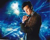 Matt Smith Doctor Who Signed 8x10 Photo Authentic Autograph Bbc Coa D