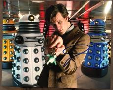 Matt Smith Doctor Who Signed Autograph Show Poster Promo 8x10 Photo Coa Dr. A