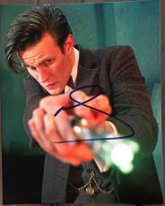 Matt Smith Doctor Who Signed Autograph Show Poster Promo 8x10 Photo Coa Dr. C