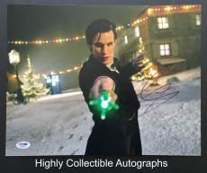 Matt Smith Signed 11x14 Photo Autograph Psa Dna Coa Doctor Who The Aa68883