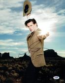 Matt Smith Signed Doctor Who Authentic Autographed 11x14 Photo PSA/DNA #AA76988