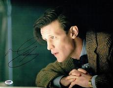 Matt Smith Signed Dr. Who Authentic Autographed 11x14 Photo PSA/DNA #AA68807