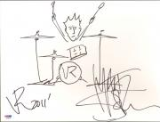 Matt Sorum Signed 11x14 Hand Drawn Original Sketch PSA/DNA COA Velvet Revolver