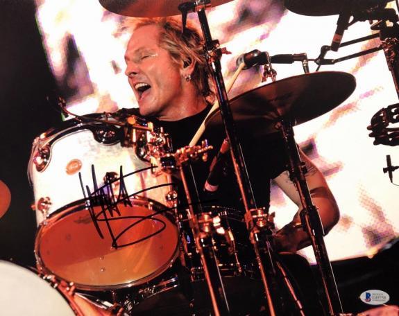 Matt Sorum Signed 11x14 Photo *Guns N Roses Drummer *Velvet Revolver BAS E49758