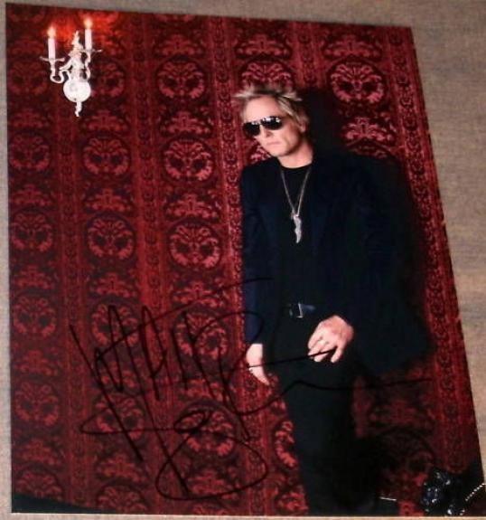 Matt Sorum Signed Autograph Guns & Roses Drummer Photo