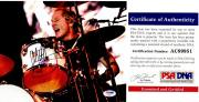 Matt Sorum Signed - Autographed Guns N' Roses Concert 8x10 inch Photo with PSA/DNA Certificate of Authenticity (COA)