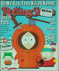 Matt Stone Signed Rolling Stone Magazine (PSA/DNA)