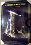 Matthew Broderick autographed Godzilla Movie Poster Framed