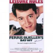 "Matthew Broderick Ferris Beuller's Day Off Autographed 12"" x 18"" Movie Poster - BAS"