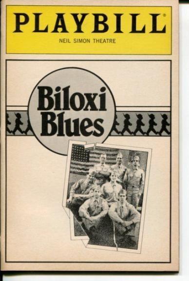 Matthew Broderick Penelope Miller Neil Simon Biloxi Blues Opening Night Playbill