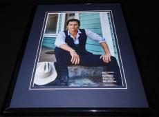 Matthew McConaughey 2016 Dolce & Gabbana Framed 11x14 Photo Display