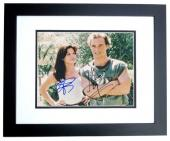 Matthew McConaughey and Sandra Bullock Signed - Autographed 8x10 inch Photo with JK Livin Inscription BLACK CUSTOM FRAME - Guaranteed to pass PSA or JSA
