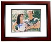 Matthew McConaughey and Sandra Bullock Signed - Autographed 8x10 inch Photo with JK Livin Inscription MAHOGANY CUSTOM FRAME - Guaranteed to pass PSA or JSA