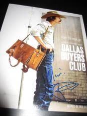 MATTHEW MCCONAUGHEY SIGNED AUTOGRAPH 8x10 PHOTO DALLAS BUYERS CLUB PROMO COA X8
