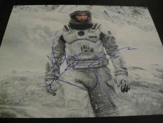 MATTHEW MCCONAUGHEY SIGNED AUTOGRAPH 8x10 PHOTO INTERSTELLAR PROMO IN PERSON X1