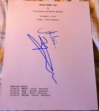 "Matthew Mcconaughey Signed Autograph ""dallas Buyers Club"" Full Movie Script Coa"