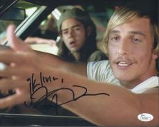 Matthew Mcconaughey Signed 'dazed And Confused' 8x10 Photo Autograph Jsa Coa