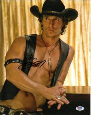 Matthew McConaughey Signed Magic Mike Autographed 11x14 Photo PSA/DNA #AA68749