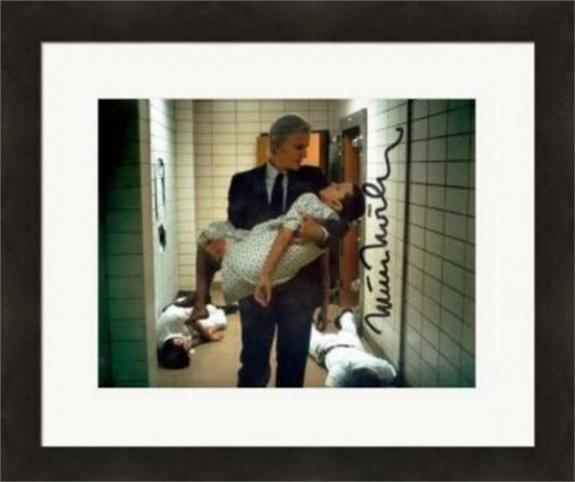 Matthew Modine autographed 8x10 photo (Stranger Things) #SC6 Matted & Framed