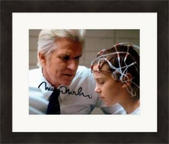 Matthew Modine autographed 8x10 photo (Stranger Things) #SC7 Matted & Framed