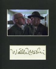 Matthew Modine Full Metal Jacket Signed Autograph Photo Display W/ R. Lee Ermey