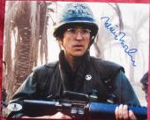 Matthew Modine signed 8x10 photo Full Metal Jacket Beckett BAS Authentic