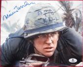 Matthew Modine signed 8x10 photo Full Metal Jacket Beckett BAS Authentication