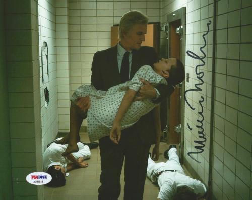 Matthew Modine Stranger Things Season 1 Signed 8x10 Photo PSA/DNA COA (B)