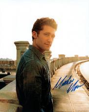 Matthew Morrison Glee Autographed Adorable Signed Photo UACC RD AFTAL RACC TS