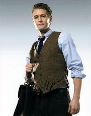 Matthew Morrison Glee Autographed Vest Tie Signed Photo UACC RD AFTAL RACC TS