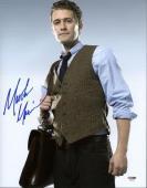Matthew Morrison Glee Signed 11X14 Photo Autographed PSA/DNA #X35995