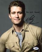 Matthew Morrison Glee Signed 8X10 Photo Autographed PSA/DNA #AA20368