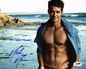 Matthew Morrison Glee Signed 8X10 Photo Autographed PSA/DNA #AA20373