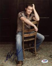 Matthew Morrison Glee Signed 8X10 Photo Autographed PSA/DNA #W24859