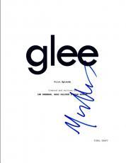 Matthew Morrison Signed Autographed GLEE Pilot Episode Script COA VD