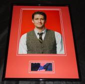 Matthew Morrison Signed Framed 11x14 Photo Display Glee