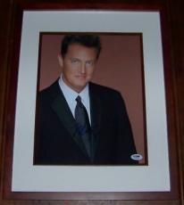 BEST DEAL EVER! Matthew Perry Friends Signed 11x14 Framed Photo PSA DNA COA