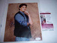 Matthew Perry Friends,actor Jsa/coa Signed 8x10 Photo