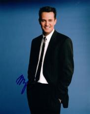 Matthew Perry Signed Autographed 8x10 Photo Friends The Odd Couple COA VD