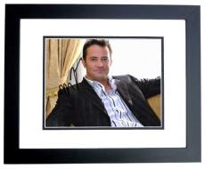Matthew Perry Signed - Autographed FRIENDS Actor 8x10 inch Photo BLACK CUSTOM FRAME - Guaranteed to pass PSA or JSA