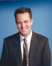 Signed Matthew Perry Photo - FRIENDS 8x10 #2