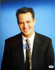 Matthew Perry Signed Friends Autographed 11x14 Photo (PSA/DNA) #I86505