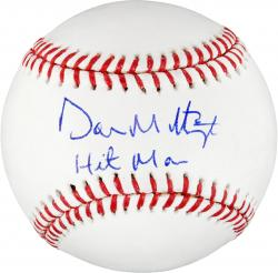 Don Mattingly New York Yankees Autographed Baseball - Mounted Memories
