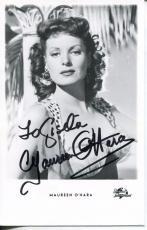 Maureen O'hara Actress The Quiet Man John Wayne Co-star Signed Photo Autograph