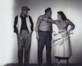 Maureen O'hara Signed Autographed Bw 8x10 Photo For Helen With John Wayne